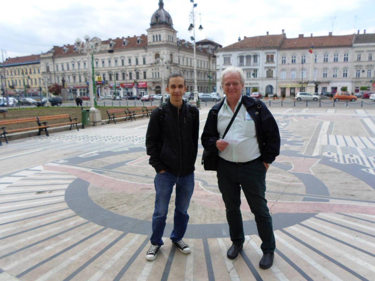 2015 aprilie - cu dr. Sergio Bajay. prof univ. Univ. de   Stat din Campinas, Brazilia