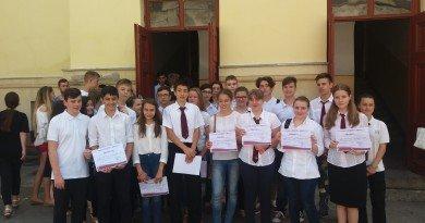 An școlar încheiat cu succes la Colegiul Național Elena Ghiba Birta