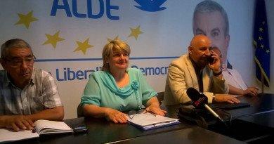 Mircea Purcaru, preşedintele executiv ALDE Arad, a vrut să limpezească apele