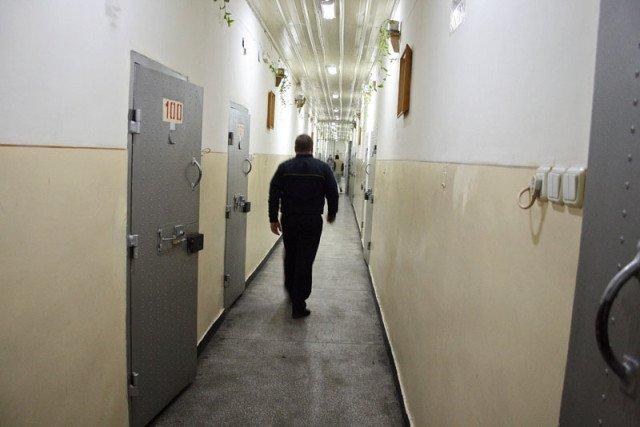 Detinuti la Penitenciarul din Botosani, luni, 26 ianuarie 2009.(Catalin Onofrei/Botosani/NewsIn FOTO)