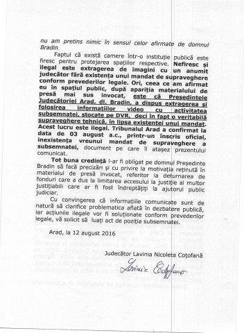 COMUNICAT DE PRESA - JUDECATOR LAVINIA NICOLETA COTOFANA_Page_2