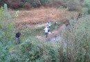 Deversări de dejecţii pe un câmp din apropierea râului Teleorman. Autorităţile din Argeş au deschis o anchetă