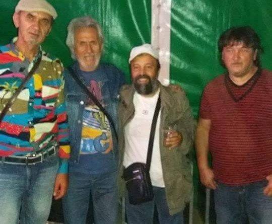 Petre Don, Daniel Julean şi Nelu Pitic, împreună cu Gyuri la Pecica