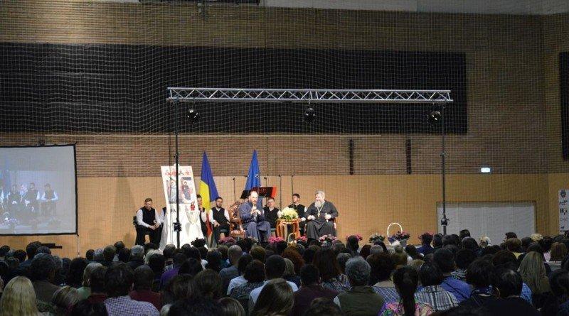 Mii de participanți la conferința Părintele Constantin Necula