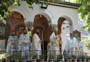 Prima Liturghie arhierească a PS Părinte Emilian Crişanul, la Mănăstirea Hodoş-Bodrog