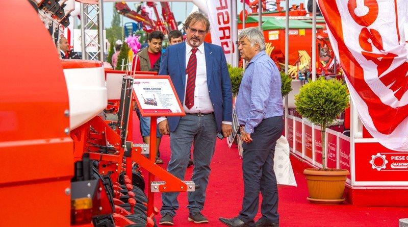 Noutăți din agricultură discutate cu fermieri de top la standul Maschio Gaspardo, în cadrul Agromalim