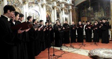 Grupul psaltic Tronos în concert la Arad