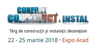 Confort Construct & Instal, în 22-25 martie, la EXPO Arad