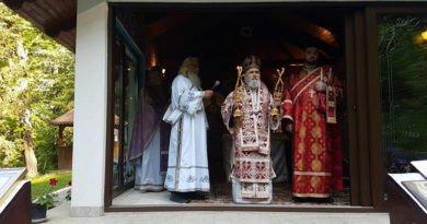 Sfântul Mare Mucenic Gheorghe prăznuit la Mănăstirea Feredeu